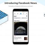Facebook News es oficial en EEUU